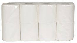 Tenerella toiletpapir 2-lags hvid