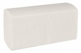 Håndklædeark, Care-Ness Classic, 2-lags, hvid, B:25 cm, 23x11,50 cm,