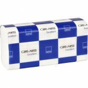 Håndklædeark, Care-Ness Excellent, nonstop, 2-lags, hvid, B:23,50 cm, 24x8 cm, FSC100% WC-COC-014610