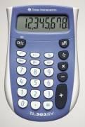 Texas lommeregner 503 SV 8 cifret batteridrevet
