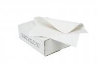 Sandwichpapir m/PE 37x50cm 10kg/pak hvid uden tryk