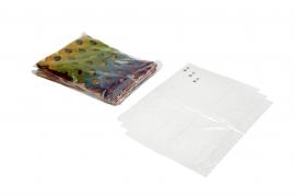 Plastikpose stabelfast 300x410+40x0,04mm 1000stk/kar