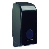 Dispenser, Kimberly-Clark Aquarius, Mini, sort, plast, til toiletpapir i ark *Denne vare tages ikke retur*