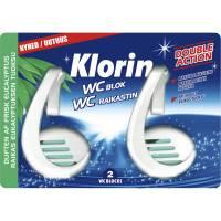 Klorin WC-blok dobbeltpakning