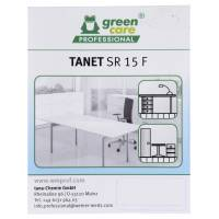 Etiket, Green Care Professional Tanet SR 15 F, universalrengøring