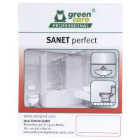 Etiket, Green Care Professional Sanet Perfect F, afkalker