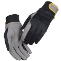 All-round handske kunstlæder velcro Str.8 sort