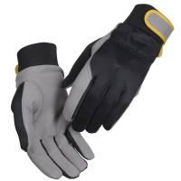 All-round handske kunstlæder velcro Str.9 sort