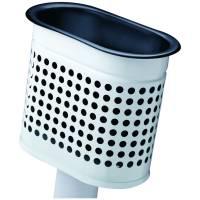 RM Affaldsbeholder klar til vægmontering hvid 20L