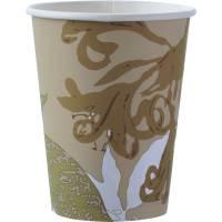 Eco kaffekop 100% komposterbar 12cl multifarvet