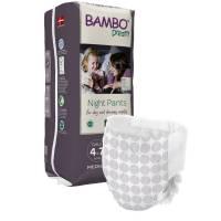 Bambo Børneble, bukseble, Dreamy Night Pants, Pige, 4-7 år hvid
