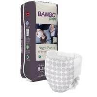 Bambo Børneble, bukseble Dreamy Night Pants, Pige, 8-15 år hvid