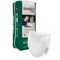 Bambo Børneble bukseble Dreamy Night Pants, Dreng, 8-15 år hvid