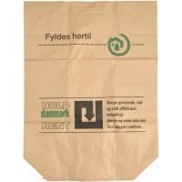 Papirsæk vådstærk 2-lags 120x70cm 110 liter brun