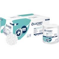 Hygenius håndklæderulle 2-lags med hylse 155m hvid