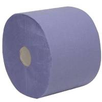Værkstedsrulle 2-lags hylse 60mm 21,50cmx360m blå