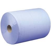 Satino Værkstedsrulle 2-lags 25cmx555m blå