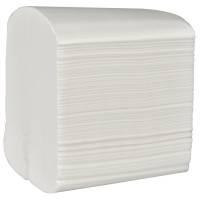 Toiletpapir i ark 10cmx0,20m hvid
