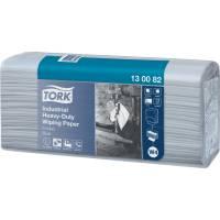 Tork Advanced industri aftørring 3-lags 38,5x32,4cm blå
