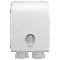 Kimberly Clark Dispenser til toiletpapir i ark maxi hvid