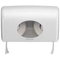 Kimberly-Clark dispenser til 2 ruller toiletpapir hvid