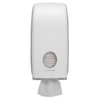 Aquarius Dispenser til toiletpapir i ark mini hvid