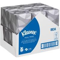 Kimberly-Clark Kleenex Ansigtsservietter 2-lags 30,8x23,4cm, hvid