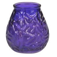 Bolsius lysbowle 70 timer Ø9,5cm 100% paraffin lilla