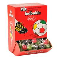 Slikkepind Foldbold Mix ass smag 120 stk.