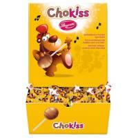 Choko-Kiss slikkepinde overtrukket med chokolade 120 stk.