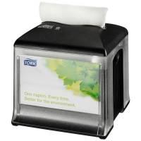 Tork Expressnap servietdispencer N10 , 15,9x15,9x16,5cm, sort, plast