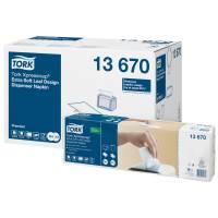 Dispenserserviet, Tork Expressnap N4 Premium, 2-lags 21,3x33cm, hvid, 100% nyfiber