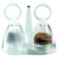 Duni Salt og pebersæt i glas sæt og holder