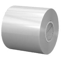 Lågfolie, 500m x 450mm, Ø19cm, 37 micron, klar, PET, peelable