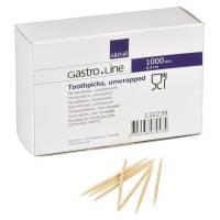 Tandstikker runde med spids i begge ender - løst pakket