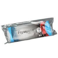 Rul-let frysepose med skrivefelt 11 liter