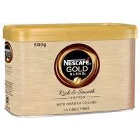 Nescafé instant kaffe Gold Blend, dåse 500g