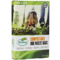 BioBag Hunde pose 20x30cm 25my 3 liter sort