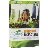 Biohundepose 3 liter mater-bi, 20x30cm på blok
