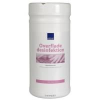 Overfladedesinfektion servietter, Abena, dispenserbox med 150 servietter