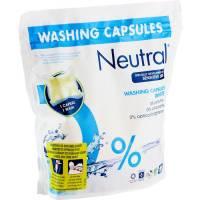 Neutral vaskekapsler til hvid tøjvask