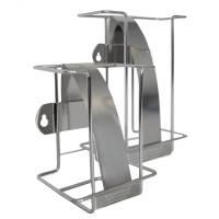 Wet Wipe Maxi ståldispenser i rustfrit stål til engangsklude