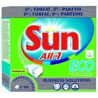 Sun Pro All in 1 Eco Opvasketabs vandopløselig folie