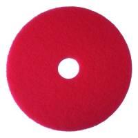 Gulvrondel, 3M Economy Line, Ø43,2cm, rød, 85 mm, 17 tommer