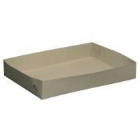 Smørrebrødsæsker kraftig model pap 44x30 50xH7  grå