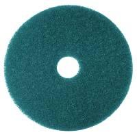 Gulvrondel, 3M Scotch-Brite, Ø28cm, blå, 85 mm, 11 tommer