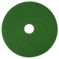 Gulvrondel, 3M Scotch-Brite, Ø35,5cm, grøn, 85 mm, 14 tommer