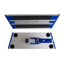 Fremfører til velcromoppe, Clean Plus, stål, aluminium, 25 cm
