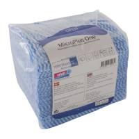 Microfiber klud microfiber-viskose 40x40cm blå