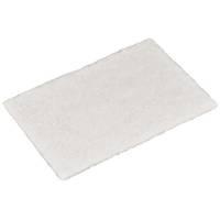 Skurefiber, 22,5x15x0,8cm, hvid, polyester/nylon, fin skureeffekt, ridsefri